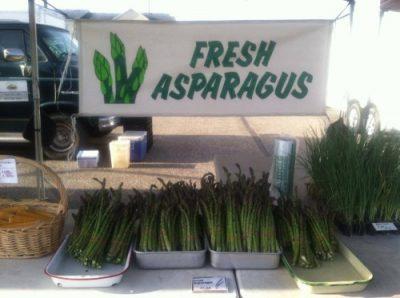 Guldan Family Farm fresh asparagus