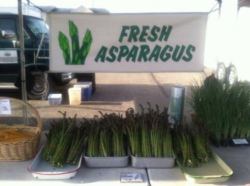 Guldan Family Farm fresh asparagus