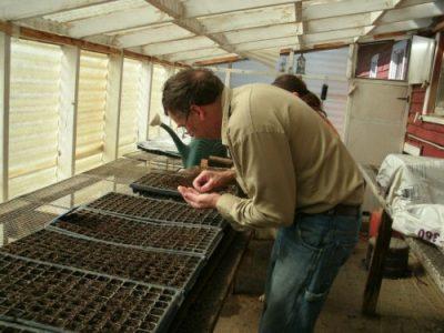 Guldan Family Farm planting starters