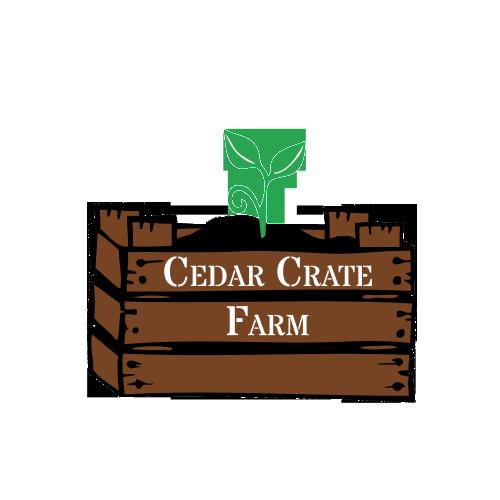 Cedar Crate Farm logo