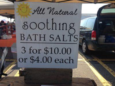 Willow Creek Soothing Bath Salts